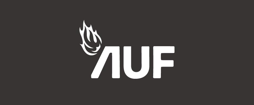 AUF logo hvit thumbnail