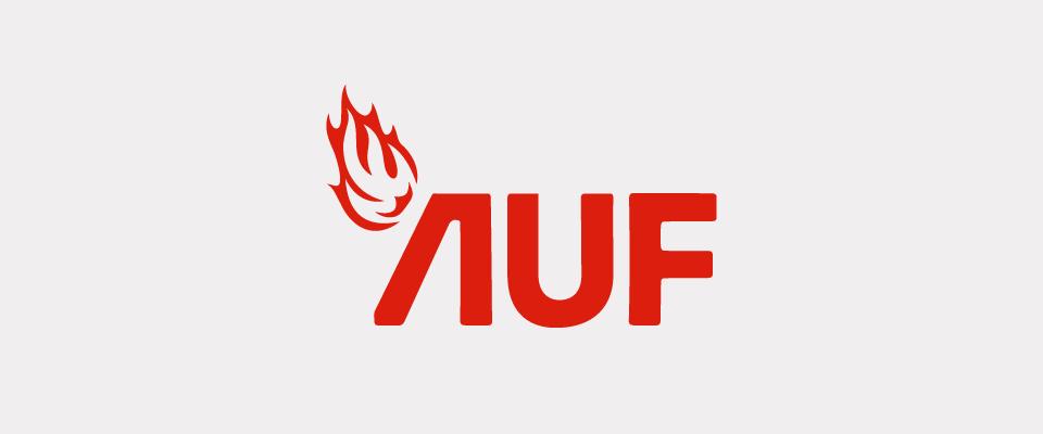 AUF logo rød thumbnail