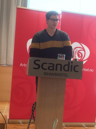 Tor-Arne, kandidatpresentasjon