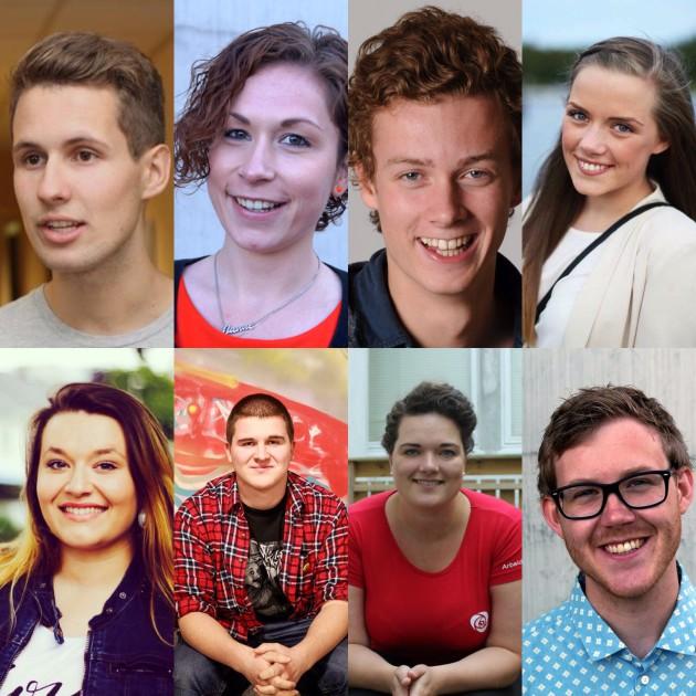 Ungdomskandidater i Vest-Agder