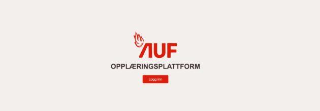 AUFs opplæringsplatform